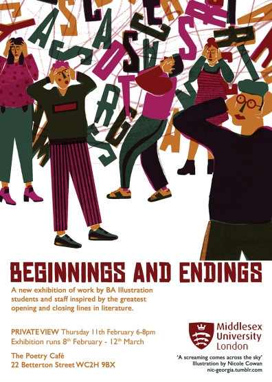 Beginnings and Endings- digital flyer