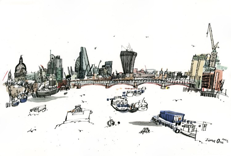 View-from-Waterloo-Bridge-James-Oses