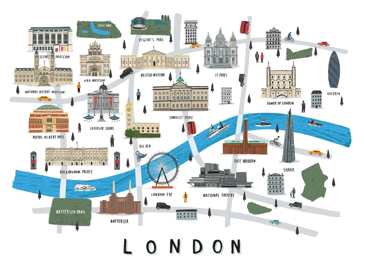 London map lores