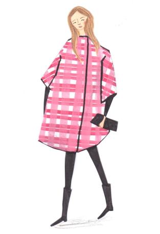 pink-check-coat