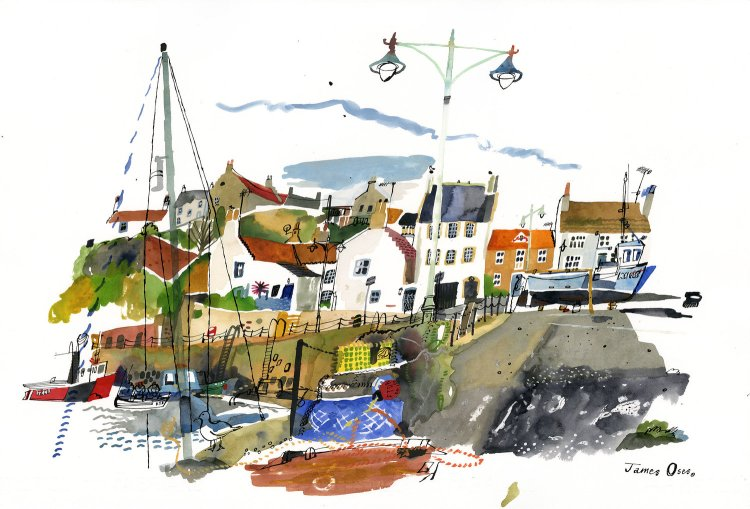 Harbour-at-Crail-James-Oses